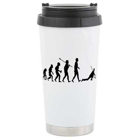 Curling Stainless Steel Travel Mug