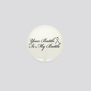 Lung Cancer Support Mini Button