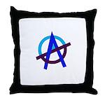 Poppa Smurf Throw Pillow