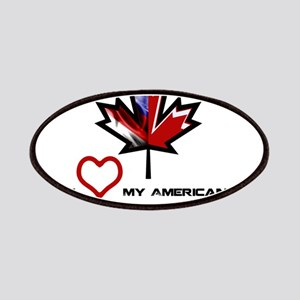 Canada-America Wife Patches