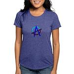 Poppa Smurf Womens Tri-blend T-Shirt