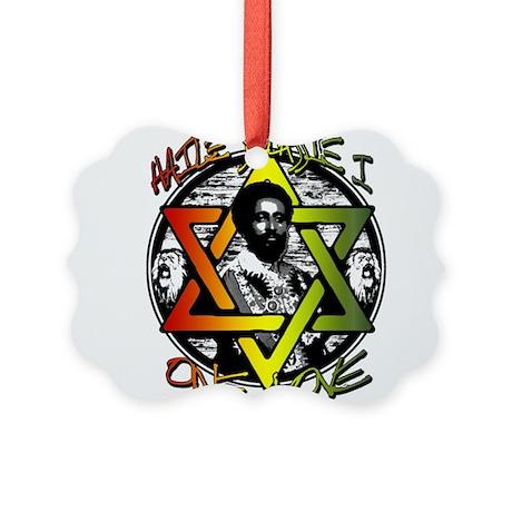 HAILE SELASSIE I - ONE LOVE! Picture Ornament