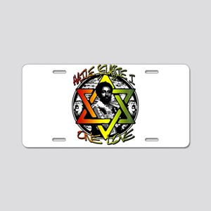 HAILE SELASSIE I - ONE LOVE! Aluminum License Plat
