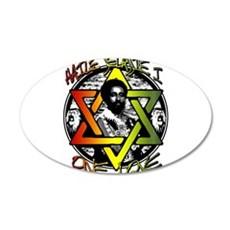 HAILE SELASSIE I - ONE LOVE! Wall Decal Sticker