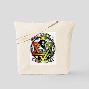 HAILE SELASSIE I - ONE LOVE! Tote Bag