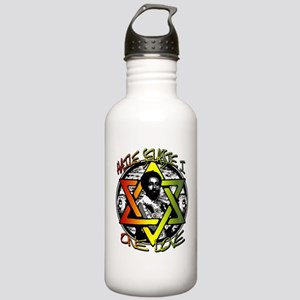 HAILE SELASSIE I - ONE LOVE! Stainless Water Bottl