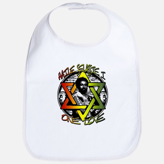 HAILE SELASSIE I - ONE LOVE! Bib