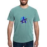 Poppa Smurf Mens Comfort Colors Shirt