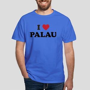 I Love Palau Dark T-Shirt