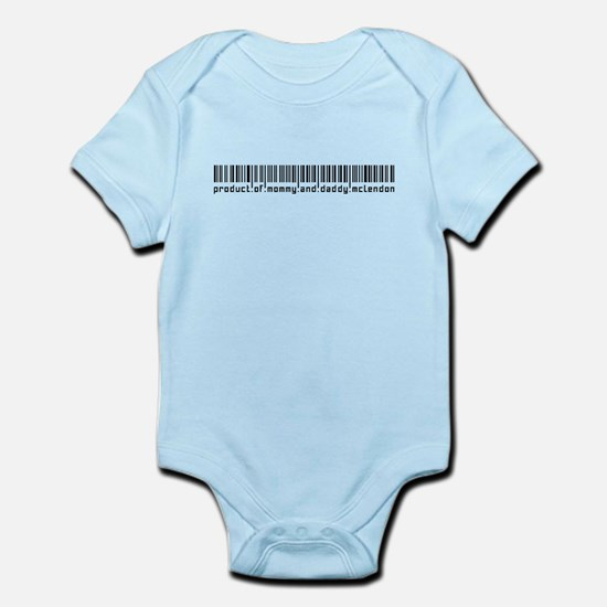 Mclendon, Baby Barcode, Infant Bodysuit