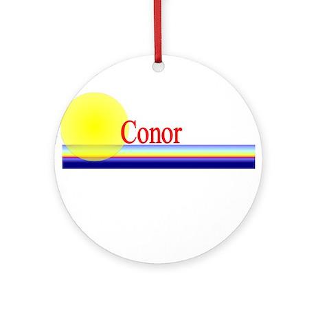 Conor Ornament (Round)