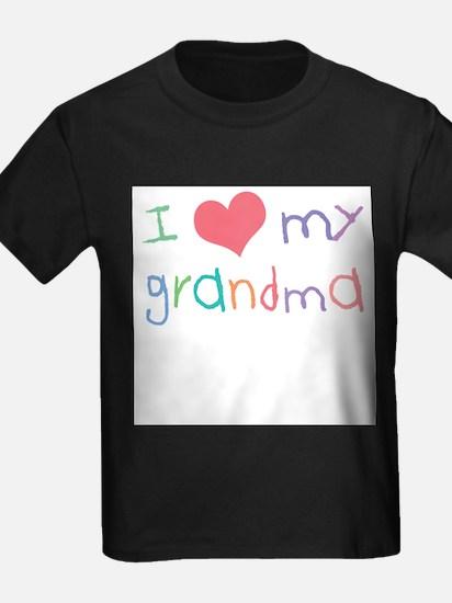 Cute I love grandma T