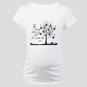 guitar tree Maternity T-Shirt