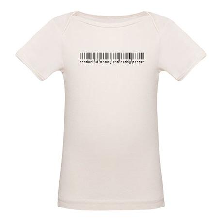 Pepper, Baby Barcode, Organic Baby T-Shirt