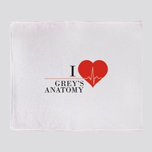 I love grey's anatomy Throw Blanket