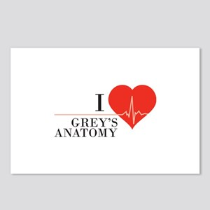 I love grey's anatomy Postcards (Package of 8)