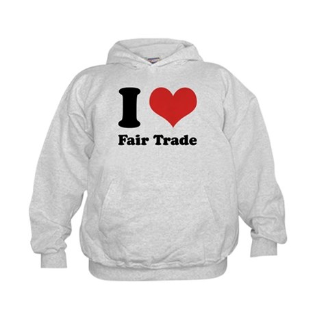 I Heart Fair Trade Kids Hoodie