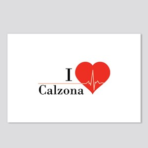 I love Calzona Postcards (Package of 8)