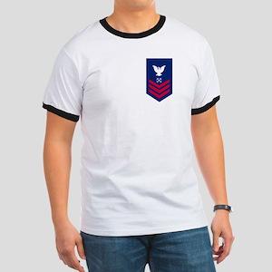 Coast Guard BM1<BR> Ringer T-Shirt