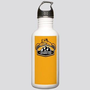 Yellowstone Gold Bear Stainless Water Bottle 1.0L