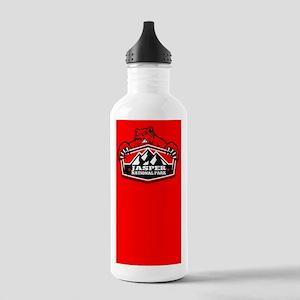Jasper Red Bear Stainless Water Bottle 1.0L