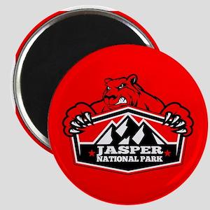 Jasper Red Bear Magnet