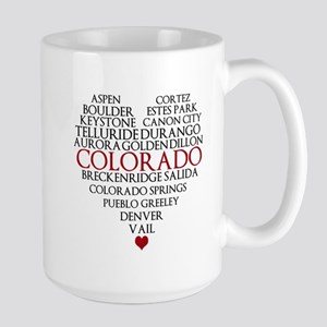 I LOVE COLORADO Large Mug