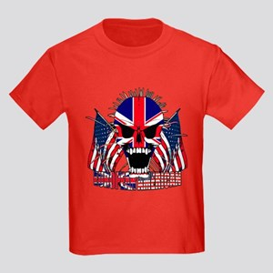 European American Kids Dark T-Shirt