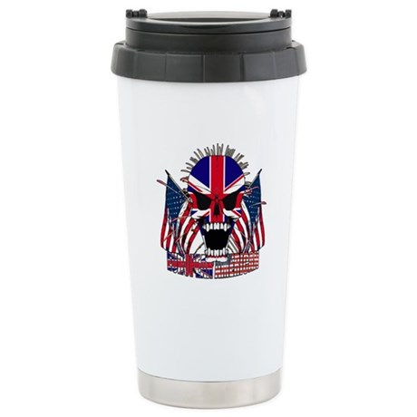 European American Stainless Steel Travel Mug
