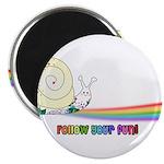 Rainbow Follow Your Fun Cute Snail 2.25
