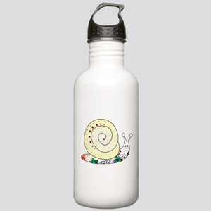 Colorful Cute Snail Stainless Water Bottle 1.0L