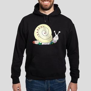 Colorful Cute Snail Hoodie (dark)