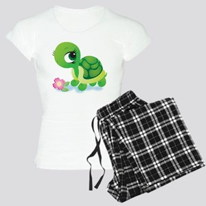 Toshi the Turtle Women's Light Pajamas