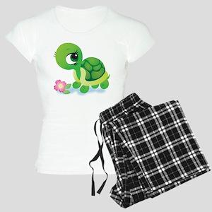Toshi the Turtle Women's Light Pajamas