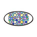 Star Stain Glass Pattern Patches