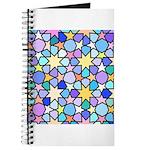 Star Stain Glass Pattern Journal