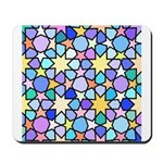 Star Stain Glass Pattern Mousepad