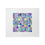 Star Stain Glass Pattern Throw Blanket