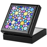 Star Stain Glass Pattern Keepsake Box
