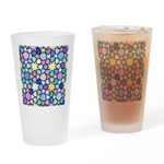 Star Stain Glass Pattern Drinking Glass