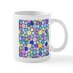 Star Stain Glass Pattern Mug
