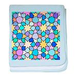 Star Stain Glass Pattern baby blanket