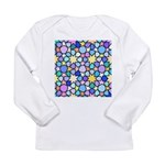 Star Stain Glass Pattern Long Sleeve Infant T-Shir
