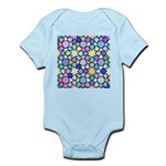 Star Stain Glass Pattern Infant Bodysuit