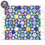 Star Stain Glass Pattern Puzzle