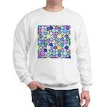 Star Stain Glass Pattern Sweatshirt
