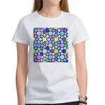 Star Stain Glass Pattern Women's T-Shirt