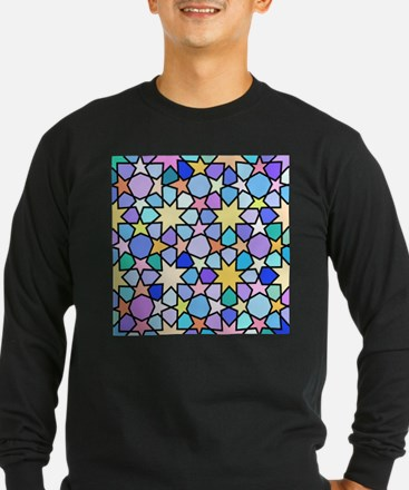 Star Stain Glass Pattern T