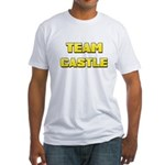 Team Castle yellow 1 Fitted T-Shirt