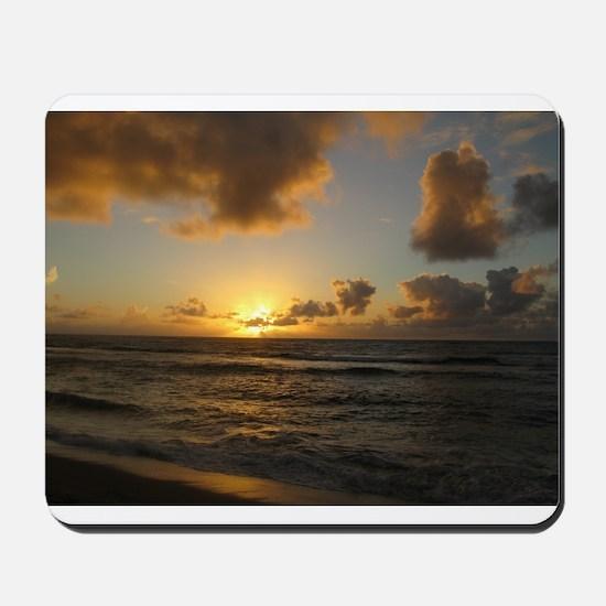 Sunrise on Kapaa, Kaui Mousepad